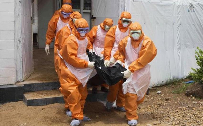 Ebola virusuna yoluxanların sayı 20 mini ötüb