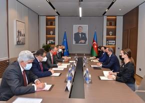 Azerbaijani FM meets EU special Rep for South Caucasus