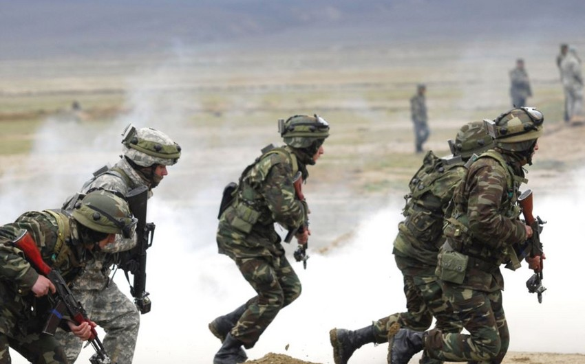 Azerbaijani Armed Forces launch the tactical exercises