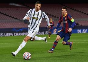 Messi və Ronaldu son 10 ilin ən yaxşı futbolçuları seçildi