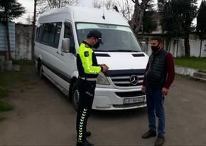 Astarada karantini pozan mikroavtobus sürücüsü aşkarlandı