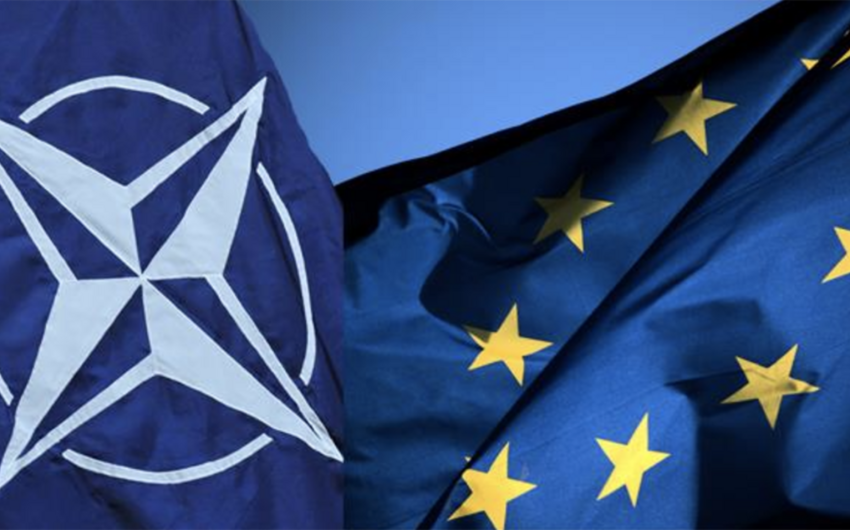 NATO və Aİ Gürcüstanla bağlı narahatlıq ifadə edib