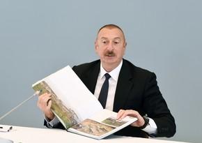 Dövlət başçısı regionda reallaşdırılacaq irimiqyaslı layihələrdən danışdı