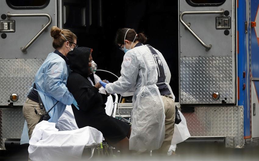 ABŞ-da bir gündə koronavirusdan 865 nəfər öldü - YENİLƏNİB