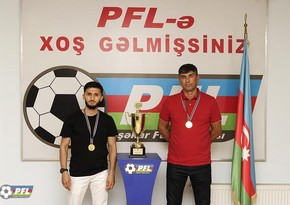 Peşəkar Futbol Liqası medalçıları mükafatlandırdı