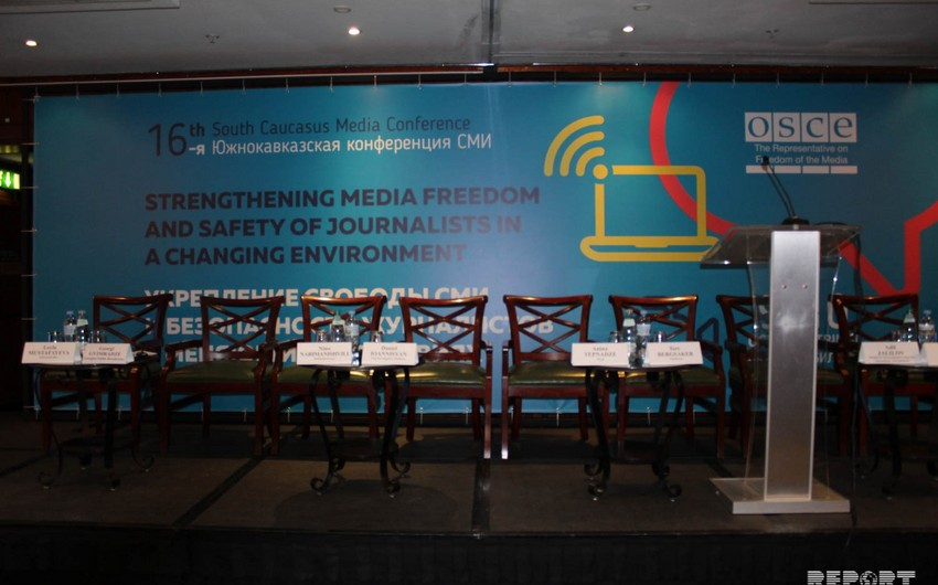 Tbilisidə Cənubi Qafqaz media konfransı keçirilir - FOTO