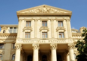Azerbaijani MFA issues statement