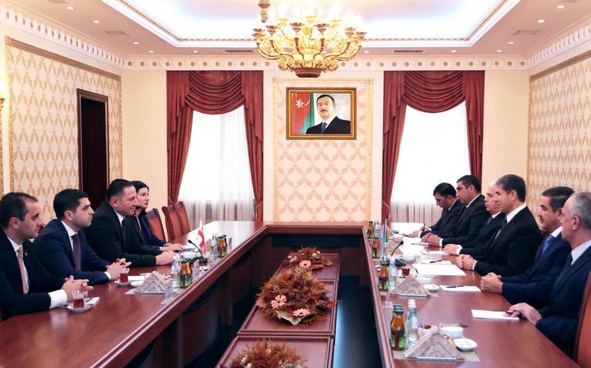 Состоялась встреча министров внутренних дел Азербайджана и Грузии