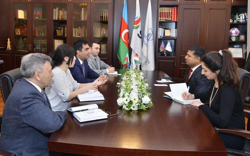 Ambassador of India visited Baku Higher Oil School
