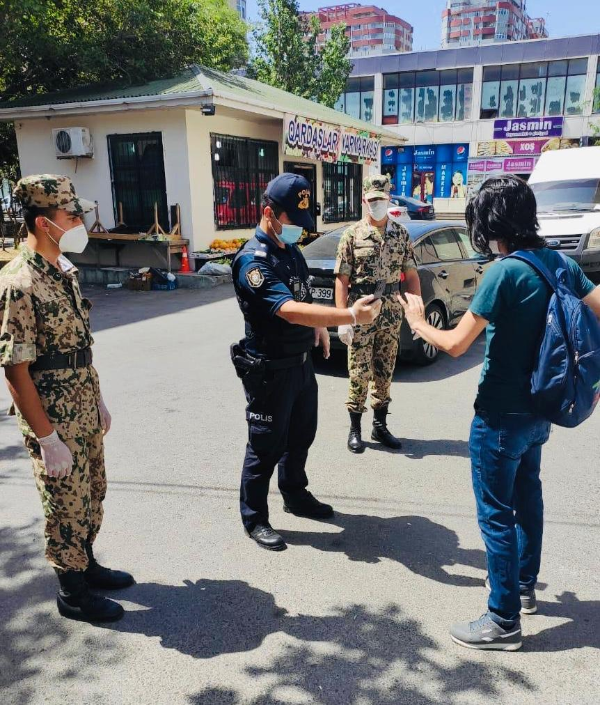 Bakı polisi nəzarət-profilaktik tədbirləri davam etdirir