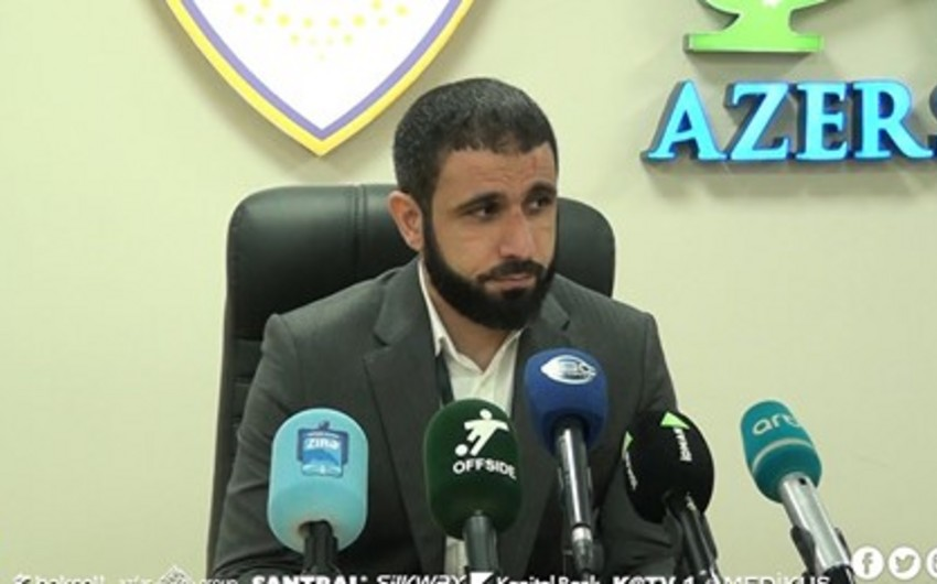 Rəşad Sadıqov: Futbolçuların reaksiyası məni qürurlandırır