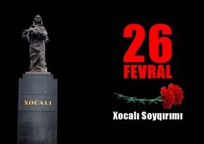 """Kiyev küçələrində """"Xocalıya ədalət!"""" bilbordları yerləşdirilib"""