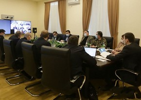 Azerbaijani, Armenian and Russian officials hold video conferencing