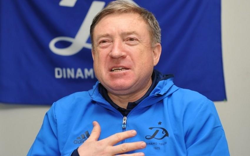Tbilisinin Dinamo klubunun baş məşqçisi istefa verib
