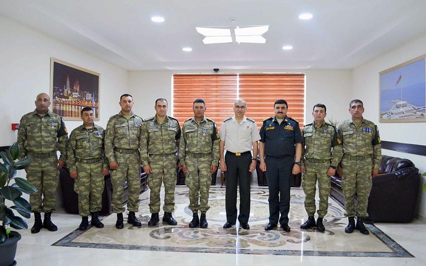 NATO representative met with Azerbaijani peacekeepers