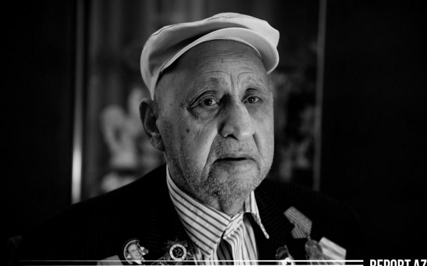Prezidentin çətir hədiyyə etdiyi müharibə veteranı - VİDEO