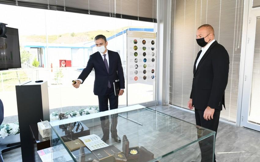 Президент ознакомился с деятельностью перерабатывающего комплекса Човдар - ОБНОВЛЕНО