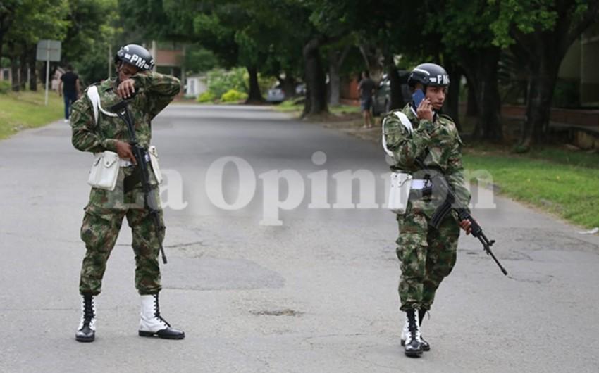 Kolumbiyanın müdafiə naziri: Ölkədəki terror aktında 36 hərbçi yaralanıb
