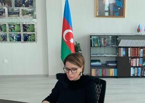 Azərbaycan və Qazaxıstan tələbələri ilə onlayn görüş keçirilib