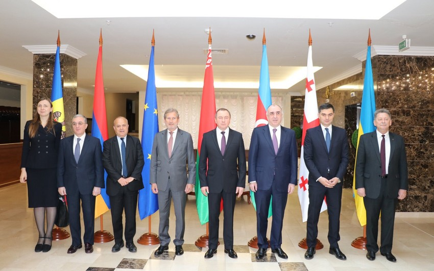 Azerbaijani FM participates in informal ministerial meeting of Eastern Partnership countries in Minsk