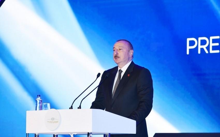 Prezident İlham Əliyev: Bundan sonra da iki qardaş ölkə - Türkiyə və Azərbaycan çiyin-çiyinə irəliləyəcək