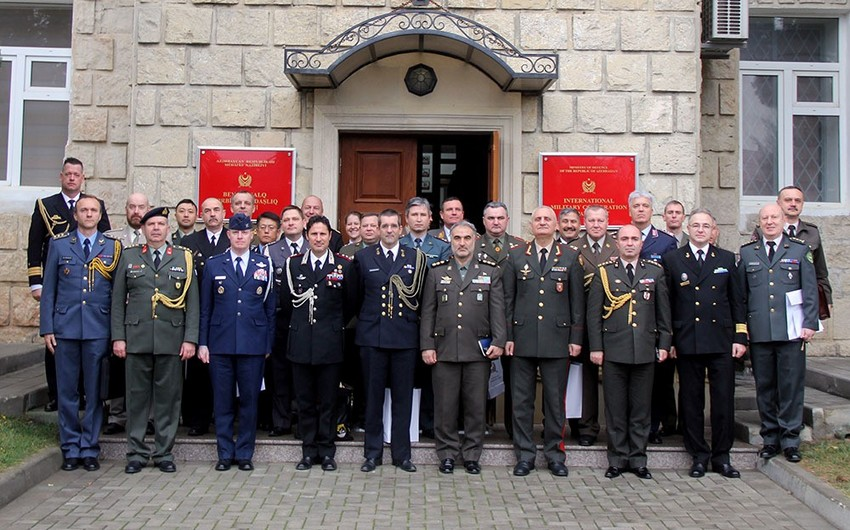 Foreign Military Attachés accredited to Azerbaijan hold meeting