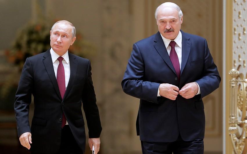 Sabah Putinlə Lukaşenko arasında görüş olacaq