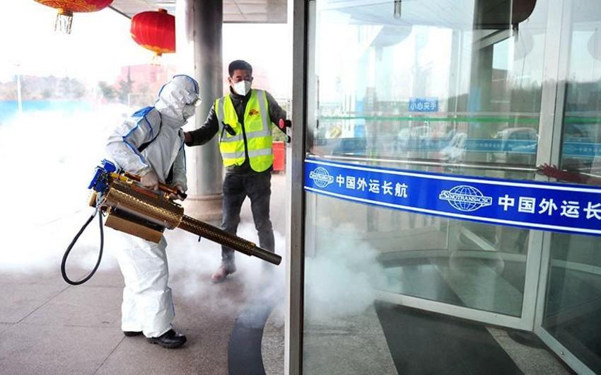 Çində koronavirusdan ölənlərin sayı 171-ə, yoluxanların sayı isə 8152-yə çatıb