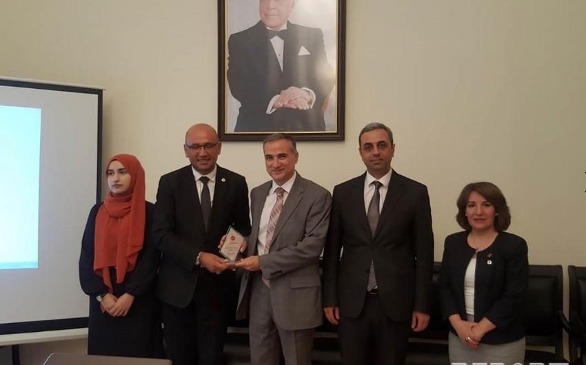 BMTM Strasburqdakı türk təşkilatı ilə əməkdaşlığa başlayır - FOTO