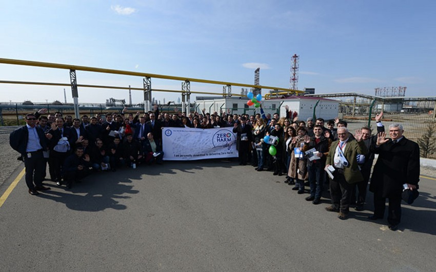 'Zero Harm' day marked within the Oil Refinery reconstruction