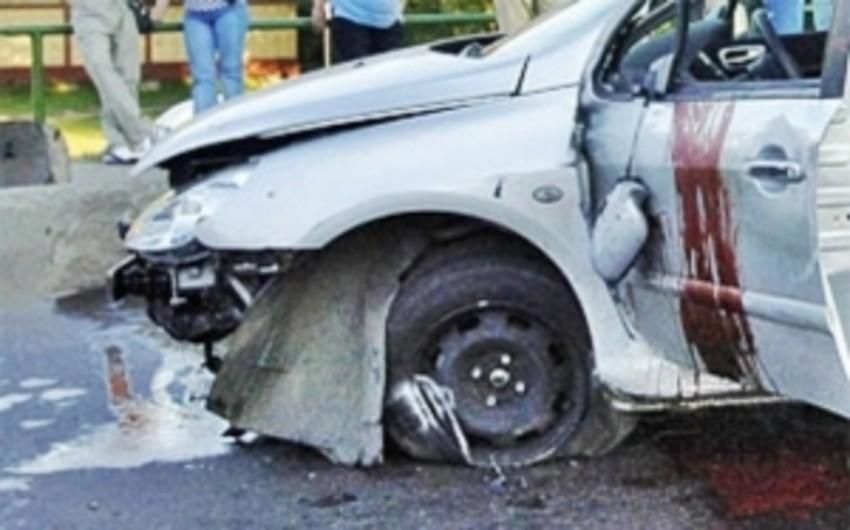 Bakıda avtomobillə motosikletin toqquşması nəticəsində sürücülərdən biri ölüb
