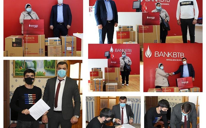 Bank BTB özünüməşğulluq proqramı iştirakçılarına dəstək oldu