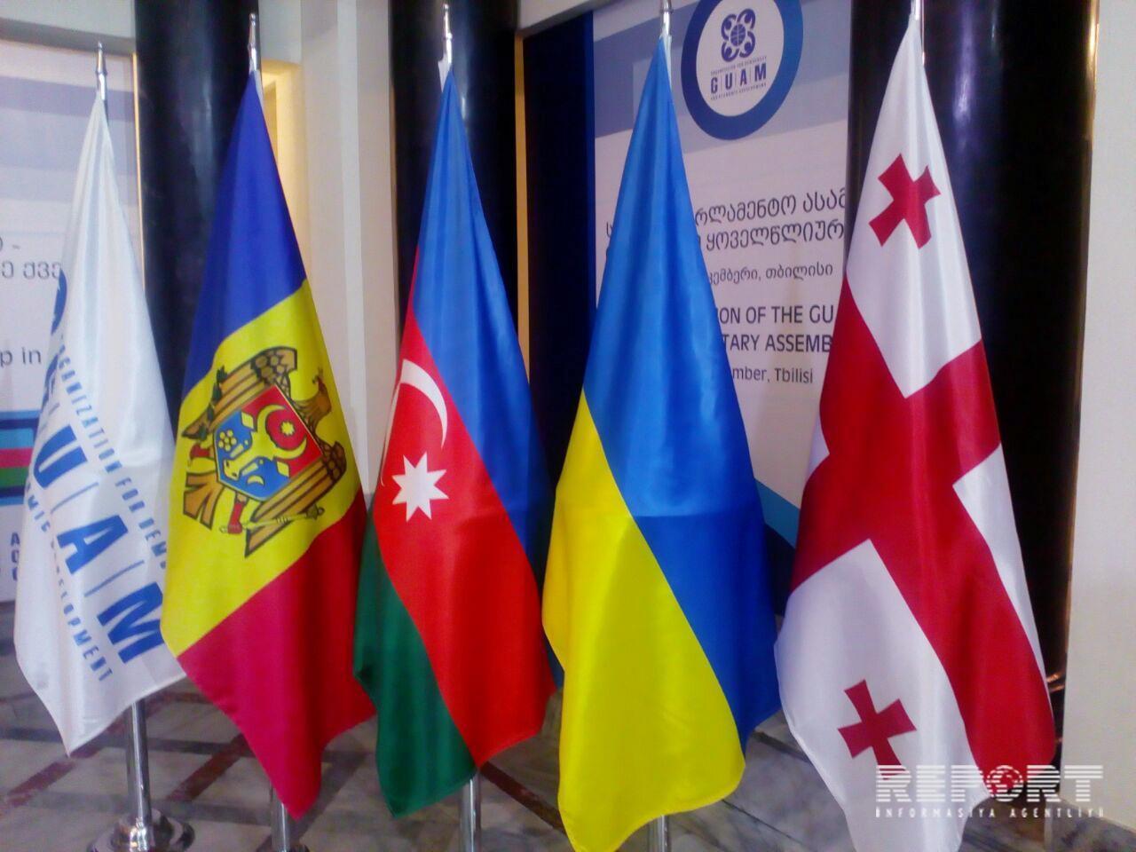 Tbilisidə GUAM PA-nın 10-cu sessiyası başlayıb