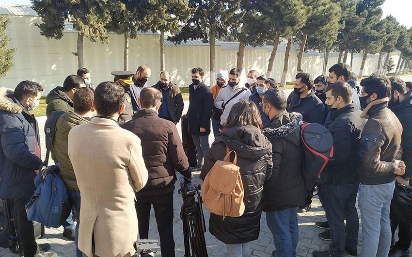 Представители медиа посетили Военный лицей имени Джамшида Нахчыванского