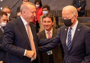 Проходит встреча президентов Турции и США