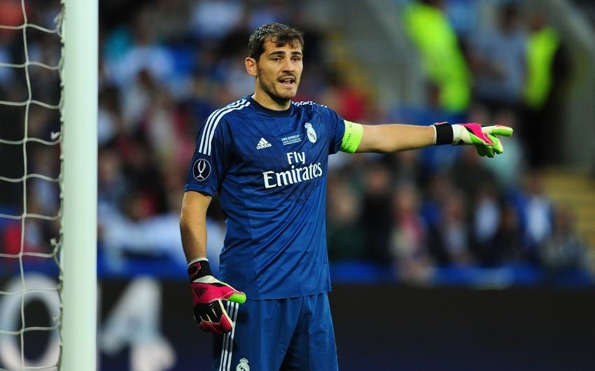 Kasilyas Real Madridə qayıdır
