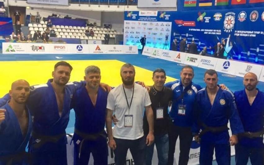 Азербайджанские дзюдоисты победив армян, вышли в финал международного турнира