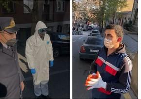 Bakıda əmək fəaliyyəti ilə məşğul olan koronavirus xəstəsi saxlanıldı