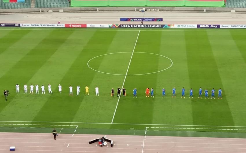 Azərbaycan - Lüksemburq matçı başladı | Report.az