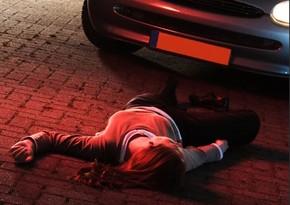 Автомобиль сбил 13-летнюю девочку в Баку