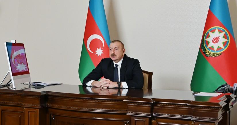 Azərbaycan Prezidenti: Biz reallıqlar yaradan ölkəyik