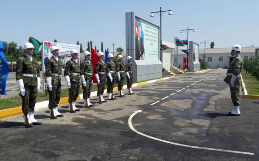 Azərbaycan ordusunun cəbhəboyu zonada yerləşən daha bir hərbi hissəsi istifadəyə verilib