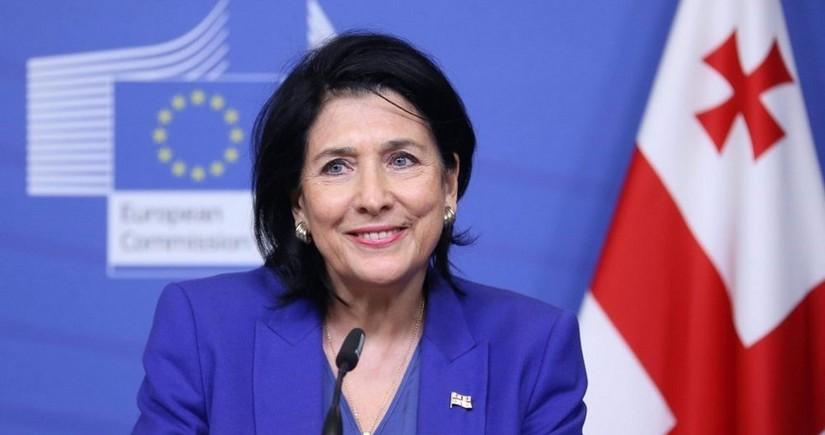 """Gürcüstan prezidenti: """"NATO Qafqaza daha çox diqqət ayırmalıdır"""""""