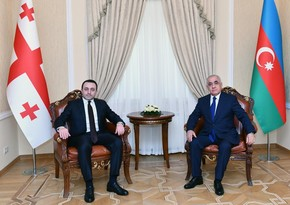 Georgian premier congratulates Azerbaijani counterpart