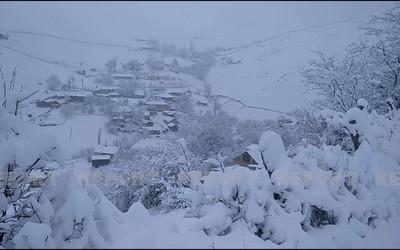 Снегопад в Джалилабаде вызвал осложнения, прервано сообщение с селами