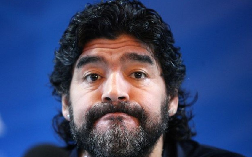 Maradona says time has come for 'anarchy' at FIFA to end