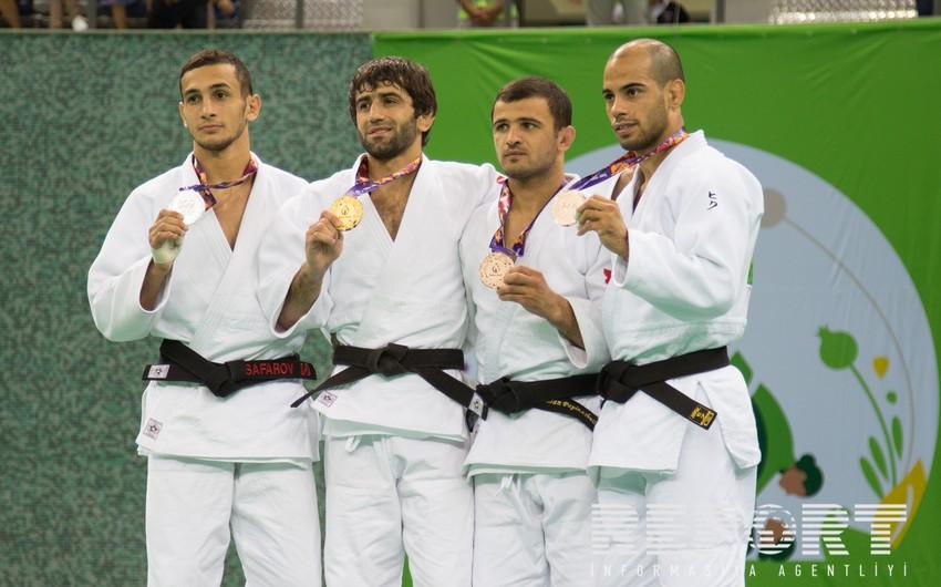 Azərbaycan cüdoçusu Orxan Səfərov gümüş medal qazanıb, Nicat Şıxəlizadə 5-ci olub - YENİLƏNİB