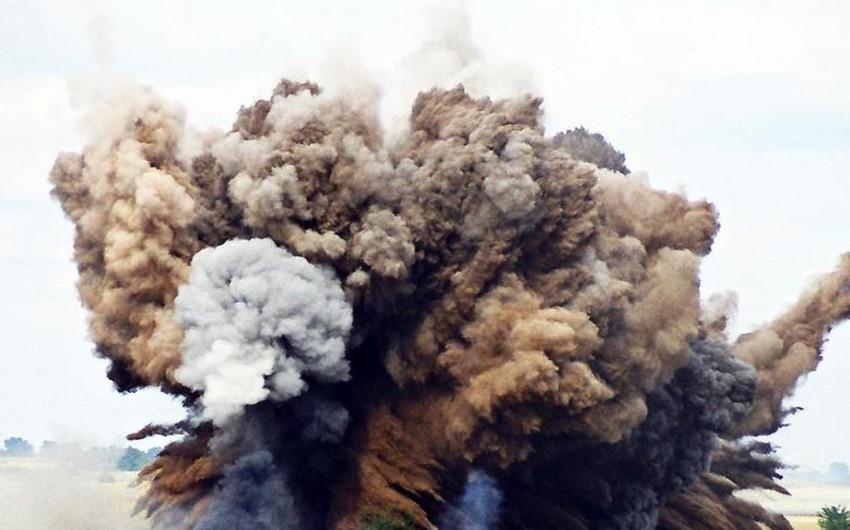 В приграничном с Азербайджаном районе Армении произошел взрыв