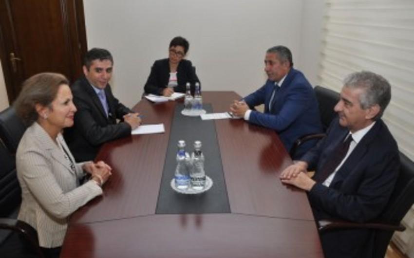 Али Ахмедов встретился с послом Франции в Азербайджане
