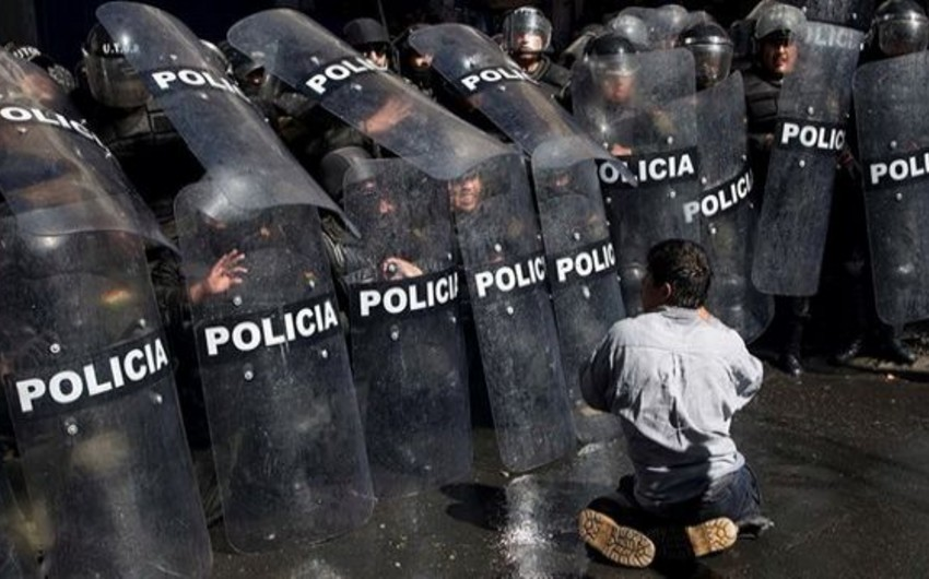 Boliviyada baş vermiş qarşıdurmalarda 318 nəfər xəsarət alıb - YENİLƏNİB